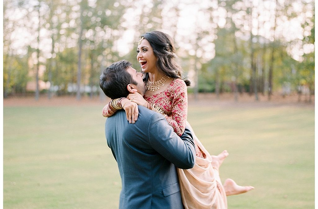 Bhavna and Tushar | Engagement Shoot | Birmingham Alabama | AK Brides
